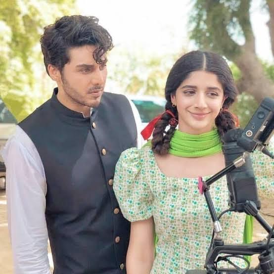 Mawra hocane with Ahsan Khan in Qissa Meherbano Ka Drama