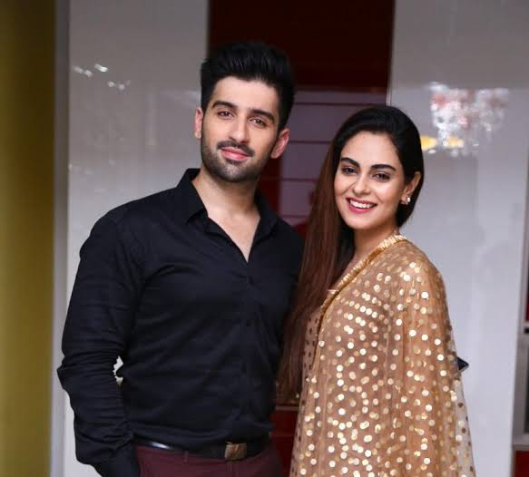 Amar Khan with Muneeb Butt in Baddua Drama